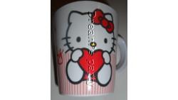 TAZZA MUG HELLO KITTY SWEET HEART CL42