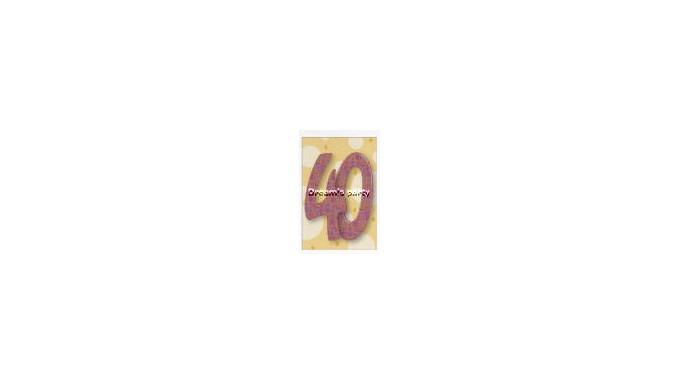 CIALDA 40 ANNI B 20X30 CM