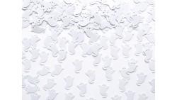 Confetti - Coriandoli da tavola sagomati Ghosts FANTASMI BIANCHI