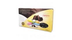 Confetti NERO al cioccolato fondente - confetti NERI CRISPO confezione 1kg