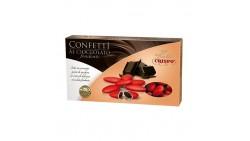 Confetti ROSSO al cioccolato fondente - confetti ROSSI CRISPO confezione 1kg