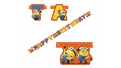 Festone MINION happy birtday 1,80cm