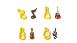 Kit 4 Taglia pasta Musica