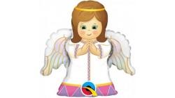 Palloncino Mini Shape 14 Mylar Angel Girl