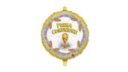 Pallone in Mylar foil - PRIMA COMUNIONE - 45cm