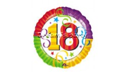 PALLONE MYLAR 18 18° COMPLEANNO