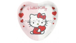 PIATTO CUORE HELLO KITTY SWEET HEART D.18 PZ 8