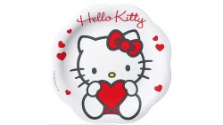 PIATTO PIANO melamina HELLO KITTY SWEET HEART