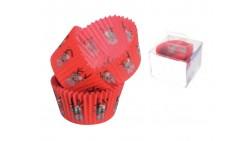 Set 88 pezzi pirottini in carta decorazione Rosso, Renna, natale - Cupcake, muffin