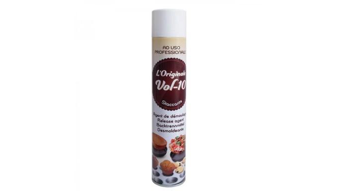 Spray STACCANTE ALIMENTARE per teglie 500ml - Burro spray antiaderente - dolci e salati