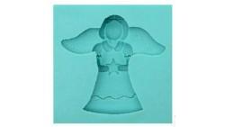 Stampo in Silicone ANGELO - per decorazioni in pasta di zucchero, gesso ecc.