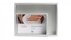Teglia Rettangolare - stampo per torte in Alluminio Anodizzato 40x30cm