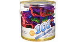 Set 101 Tagliapasta in plastica- forme assortite per decorazioni e biscotti