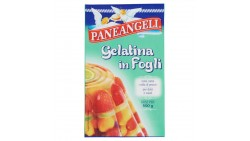 Gelatina in Fogli 12 gr Gelificante alimentare Colla di Pesce - per creme dolci