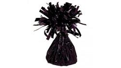 Pesetto PESO centrotavola Ciuffetto colore Nero - ideale per Palloncini ad Elio