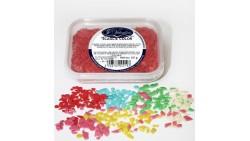 Scagliette colorate ROSSO - Decorazioni per dolci e dolci 60gr