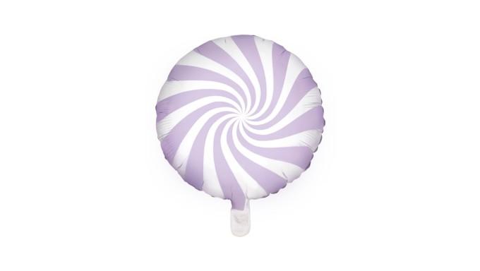 Pallone PALLONCINO CANDY Lilla - gonfiabile ad aria o elio 35CM