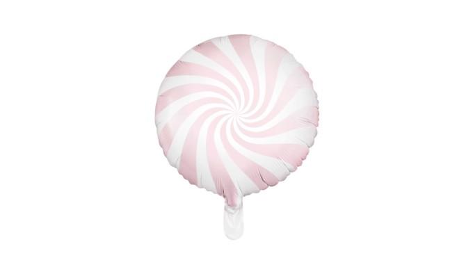 Pallone PALLONCINO CANDY Rosa Baby - gonfiabile ad aria o elio 35CM