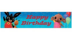 Festone Happy Birthday BING in foil 270x20cm