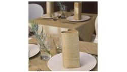Set per tavola simile a stoffa tovaglia 120x240cm + 10 tovaglioli 40x40cm