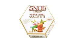 Confetti SNOB mandorla tostata gusti e colori assortiti 500 gr