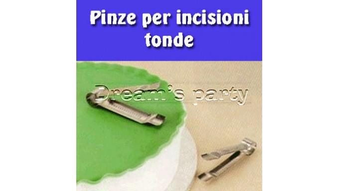 2 PINZE INCISIONE TONDE