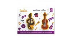 2 Tagliapasta MUSICA chiave di violino - taglia biscotti Dolci, Torte