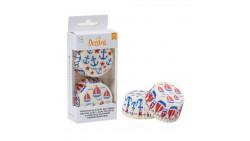 36 pirottini in carta forno SAIL ancora - per Cupcake, muffin, DOLCI 5x3,2cm