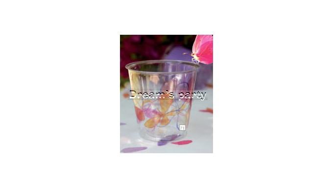 BICCHIERE KRISTAL CC.300 FRESH PINK  PZ 10