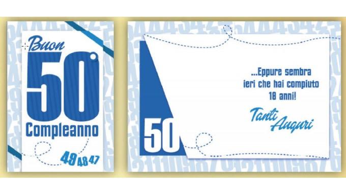 BIGLIETTO 50 ANNI