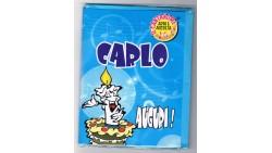 Biglietto di auguri Musicale - Cantanome CARLO