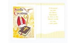 Biglietto di Auguri per la CRESIMA - biglietto augurale completo di busta