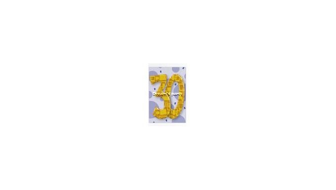 CIALDA 30 ANNI C 20X30 CM