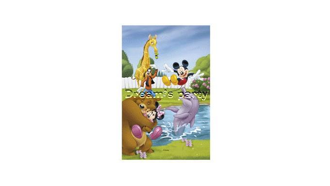 CIALDA rettangolare in ostia Mickey mouse & Co - per torte e dolci