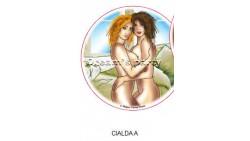 CIALDA SEXY A DIAMETRO 22CM