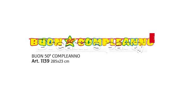 FESTONE 50 ANNI 300X23CM