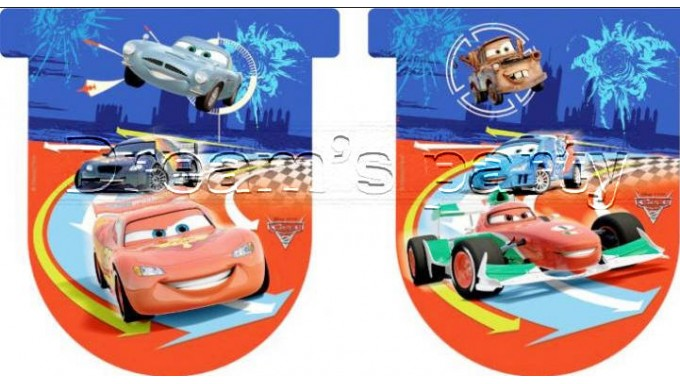FESTONE BANDIERINE CARS 3MT