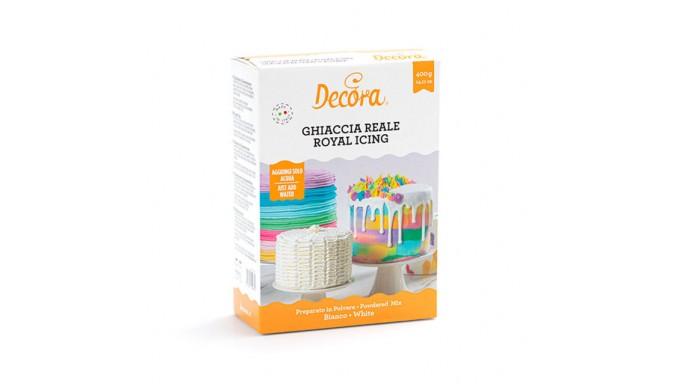 GHIACCIA REALE - preparato in polvere -  400g - Bianco