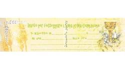INVITO PRIMA COMUNIONE PZ 20 CM 22X6