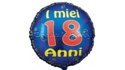 PALLONE MYLAR 18 ANNI 45 CM