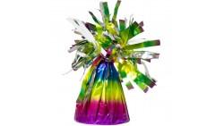 Pesetto ARCOBALENO - PESO centrotavola Rainbow - ideale per Palloncini ad Elio