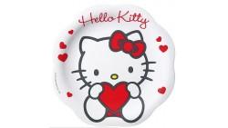 PIATTO PIANO melamina HELLO KITTY SWEET HEART