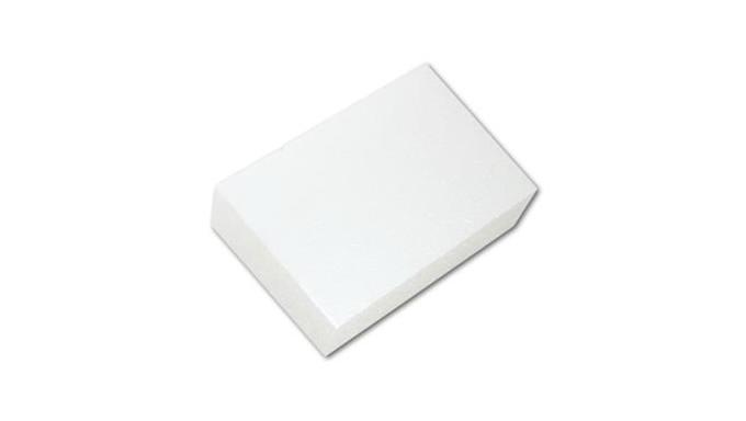 RETTANGOLO in POLISTIROLO - 10x20 x H5 -  base per torte o topper finti