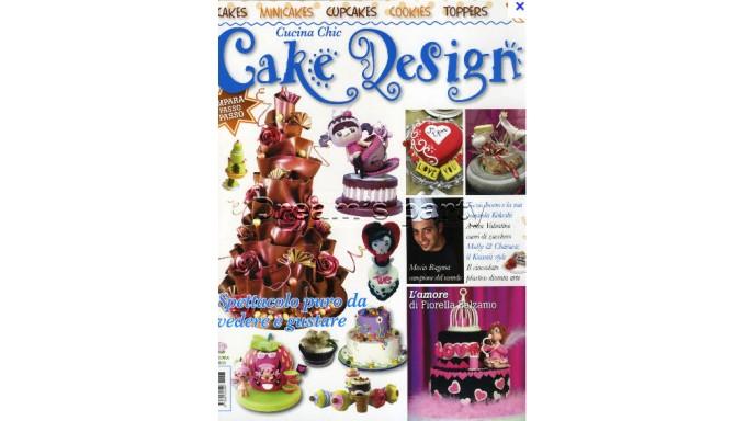 RIVISTA CAKE DESIGN  N. 3 FEBBRAIO