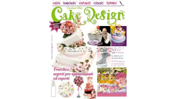 RIVISTA CAKE DESIGN  N.6 MAGGIO