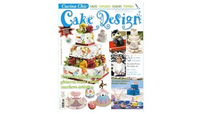 RIVISTA CAKE DESIGN  N.8 LUGLIO