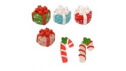 Set 4 scatola PACCHETTO REGALO 2  Bastoncini in zucchero per decorazione torte