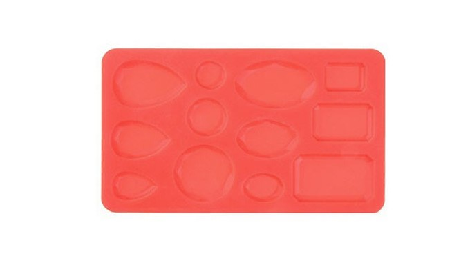 STAMPO SILICONE GEMME 18X11 CM