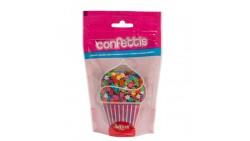 STELLINE multicolor in ZUCCHERO 100g - Stelle colorati decorazioni torte e dolci