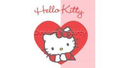 TOVAGLIOLO HELLO KITTY SWEET HEART 33X33  PZ 20